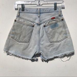VTG 70s Wrangler Jean short 0 xs XXS hi rise